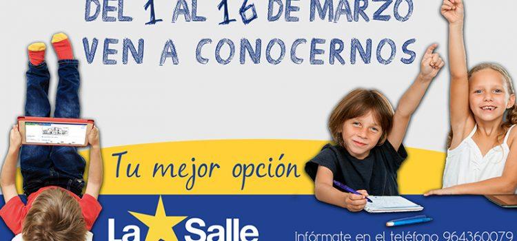 Si buscas un centro educativo para tus hijos: descubre La Salle.