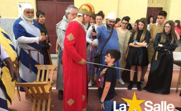 La Salle recrea la Edad Media