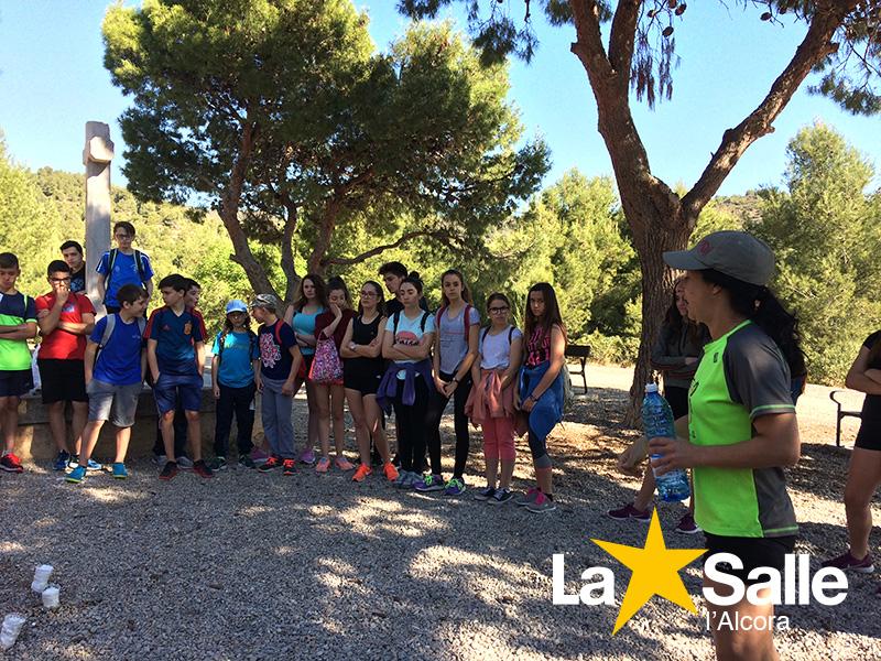 Els nostres alumnes fan les rutes de les mines de l'Alcora