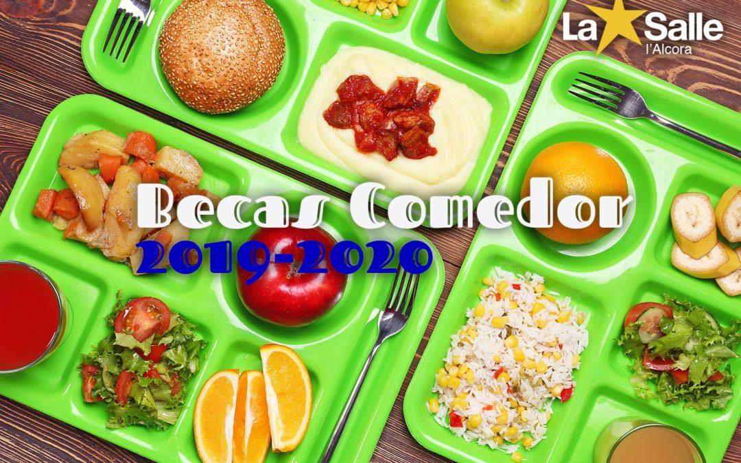 Ayudas Becas Comedor 2019-2020
